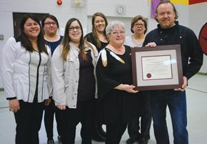 Nipissin First Nation received FMS Certificate