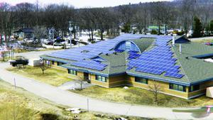 Nipissing First Nation - solar panels