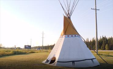 First Nation Opaskwayk Teepee