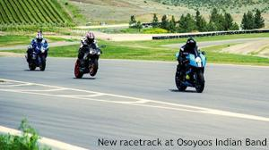 New racetrack at Osoyoos Indian Band