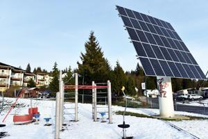 Tsleil Waututh Nation solar panel